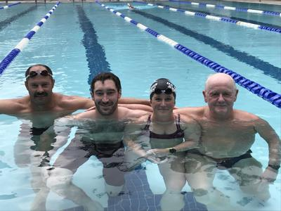 Masters swimmers