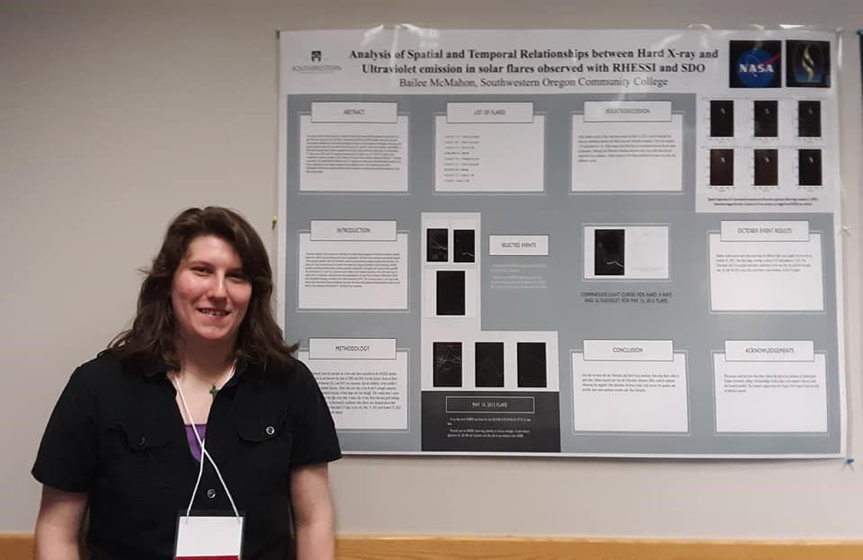 NASA-funded research at SOCC - Bailee McMahon