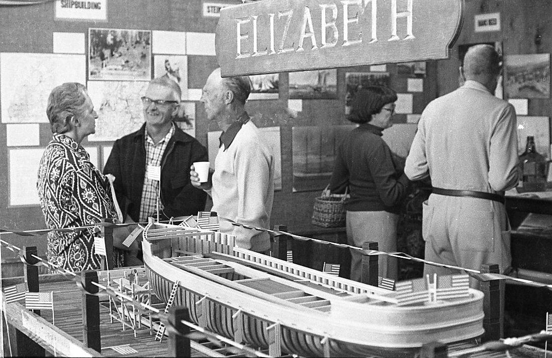 S.S. Elizabeth exhibit