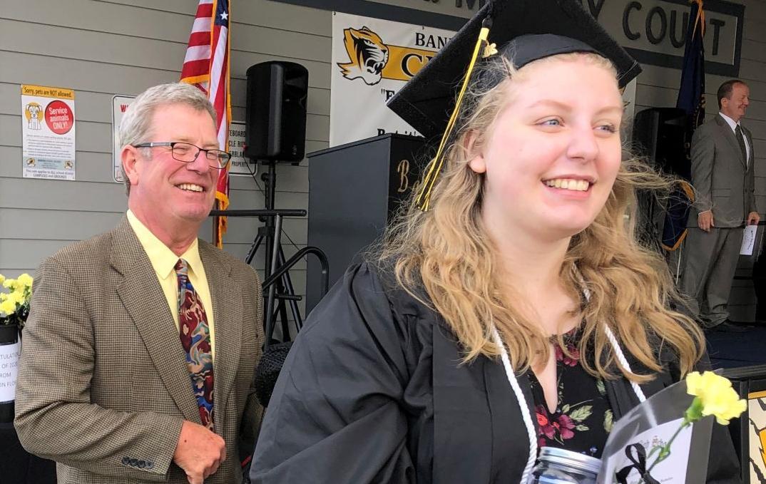 Bandon High School Class of 2020 graduation