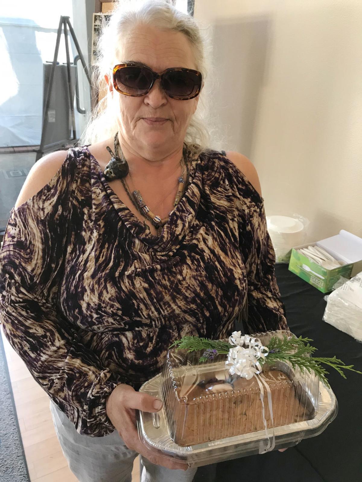 1 Nancy Grayson, blackberry cobbler