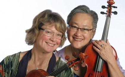Shelley Mathewson and Sharon Eng