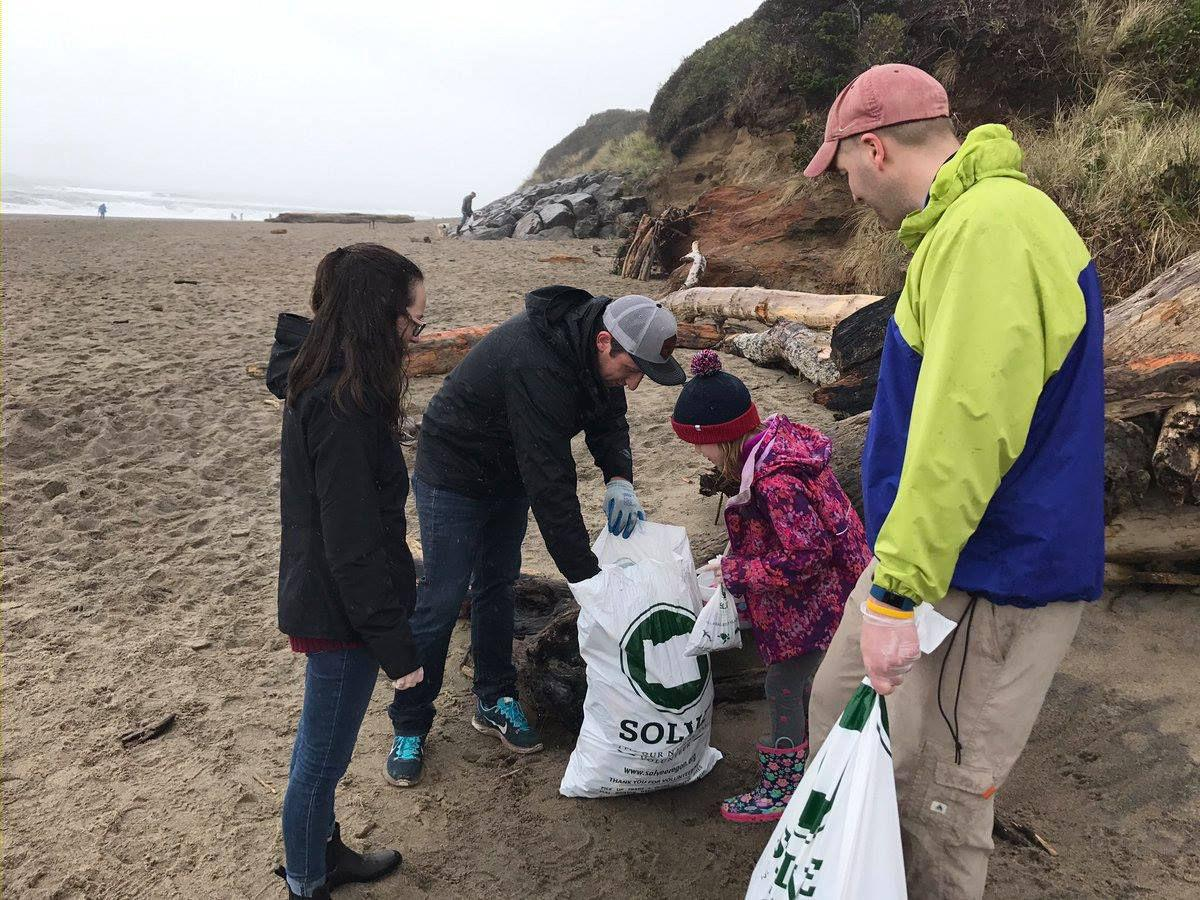SOLVE Oregon Spring Beach Cleanup