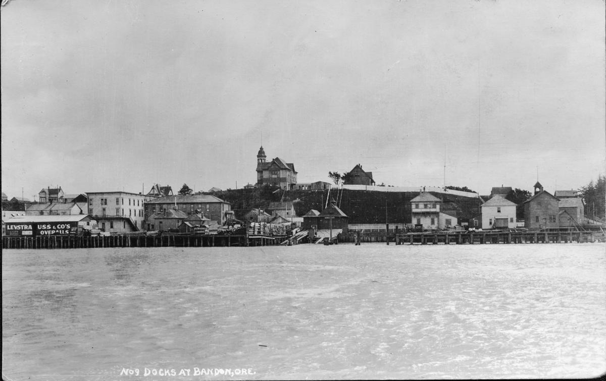Bandpon waterfront, card send in 1915