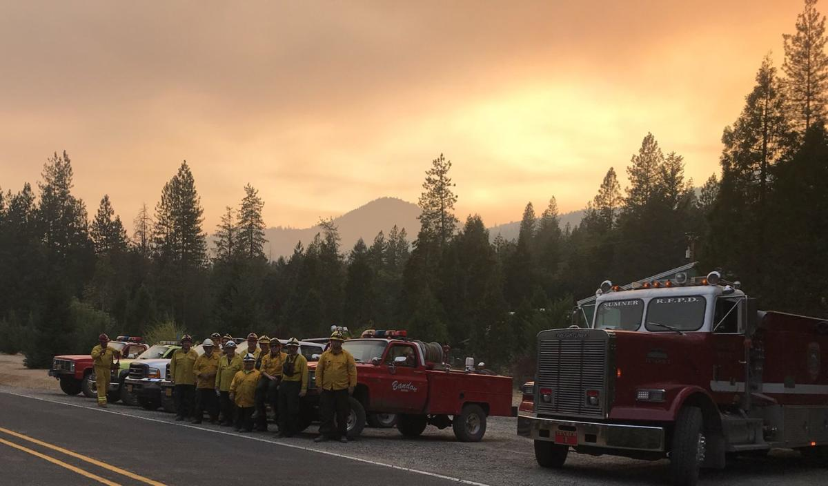 Coos County task force at Garner Complex fire