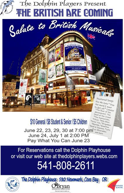'Salute to British Musicals' at Dolphin Playhouse
