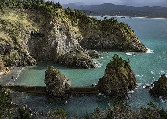 Port Orford Heads - Nellie's Cove