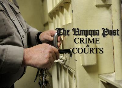Umpqua Post Crime and Court STOCK