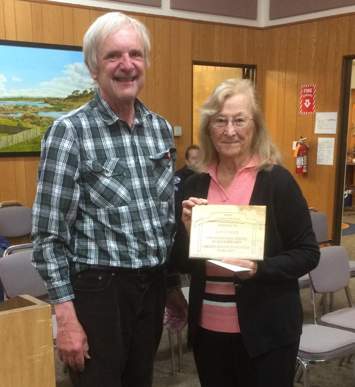 Volunteer of the Month October: Geri Procetto