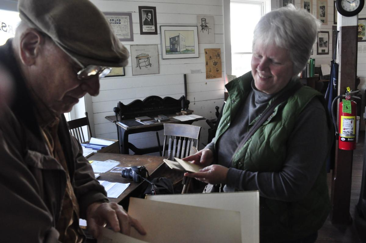 Megan Maloney visits printing museum
