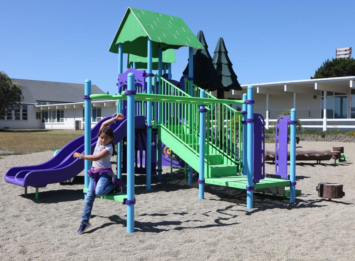 Ocean Crest Elementary School playground