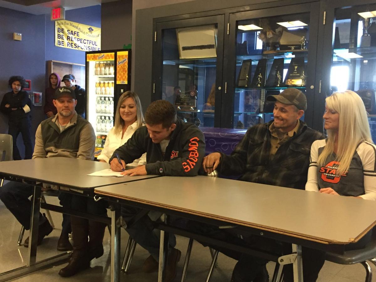 Travis Wittlake signs