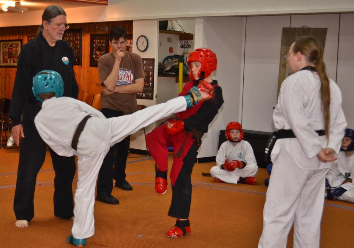 Coquille Martial Arts students compete