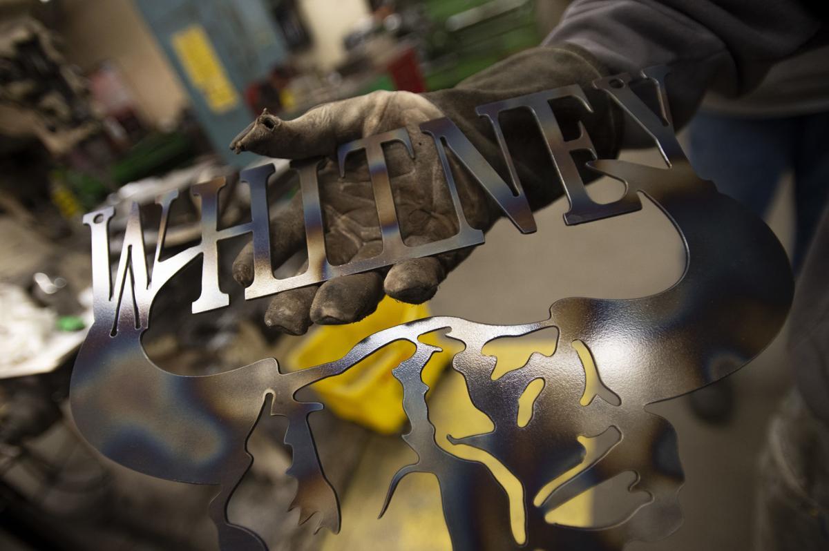 North Bend High School Metal Shop