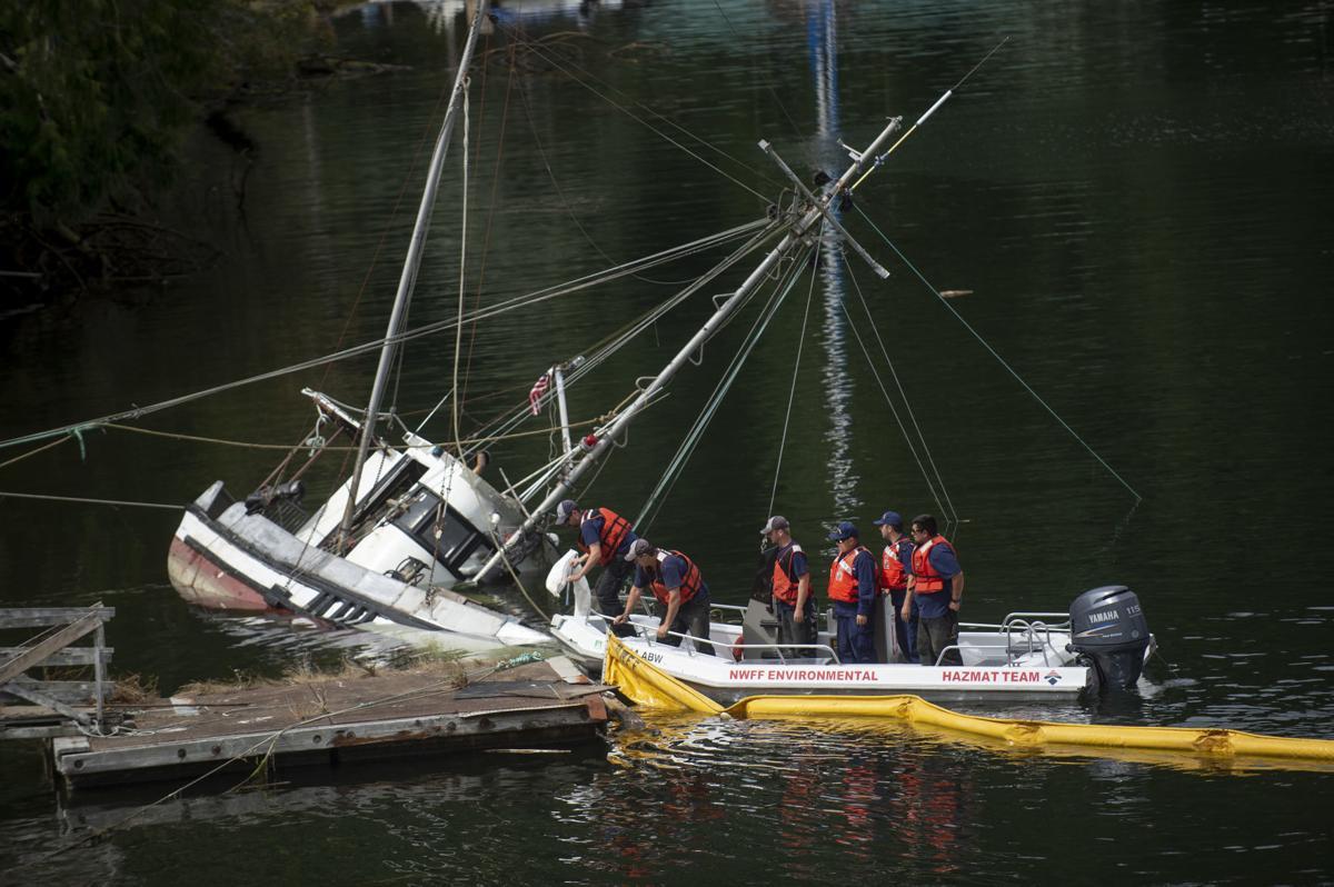 Sinking Vessel