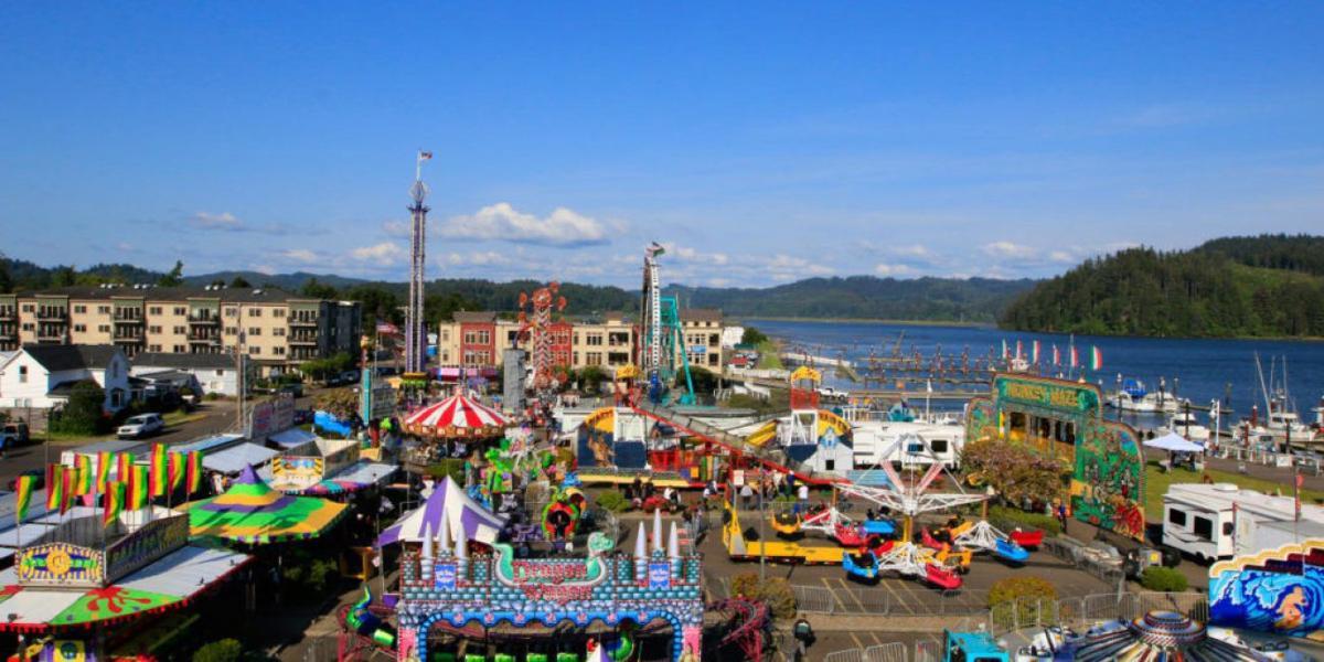 RhodyFest Carnival Waterfront