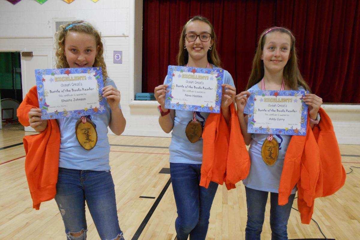 Ocean Crest Battle of the Books - winning team