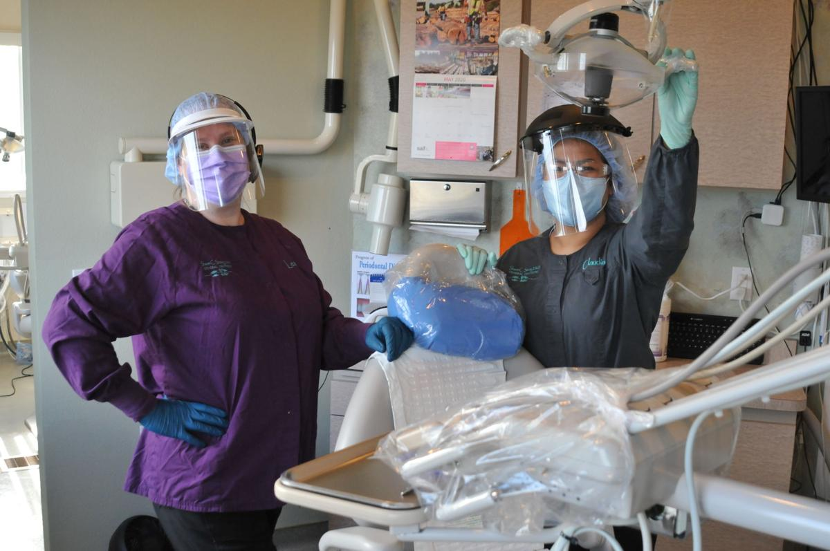 New air-handling system at Dr. Strong's dental office