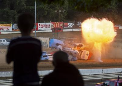Eve of Destruction at Coos Bay Speedway