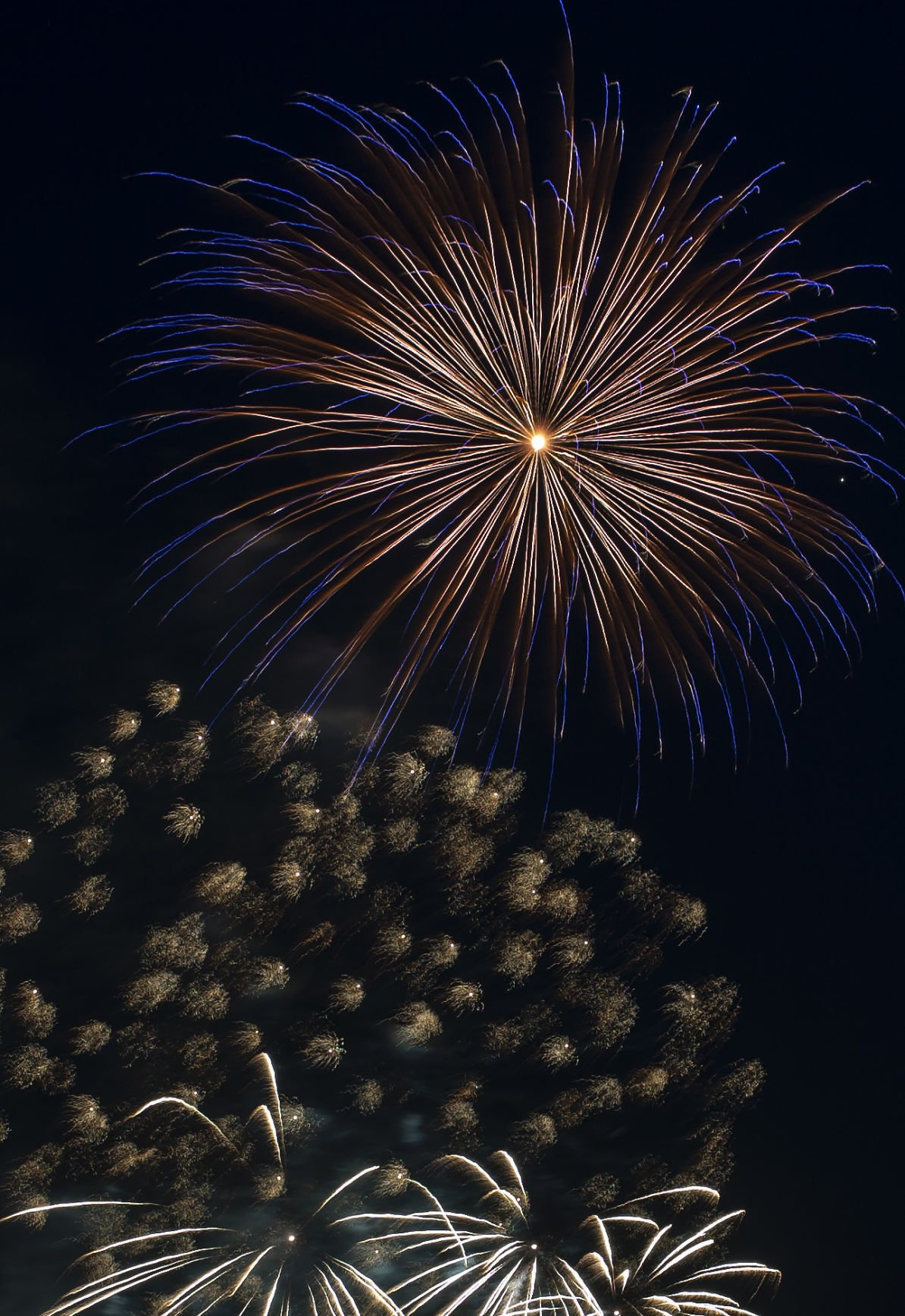The Mill Casino fireworks