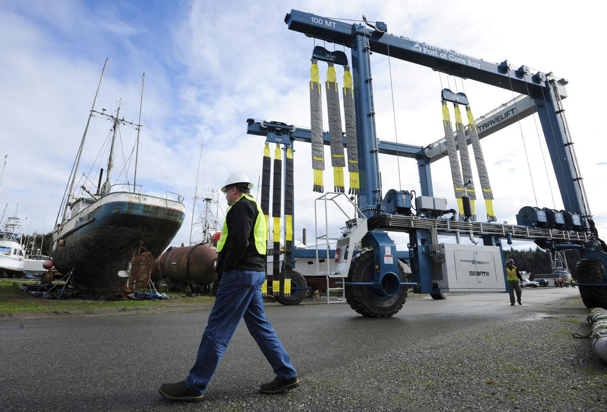 New Lift for Port of Coos Bay