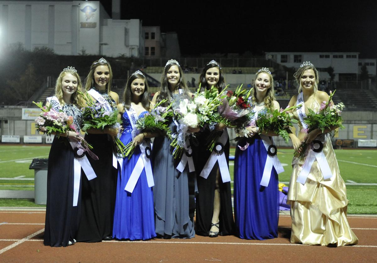 Isabella Webster crowned Marshfield's 2017 Homecoming Queen.