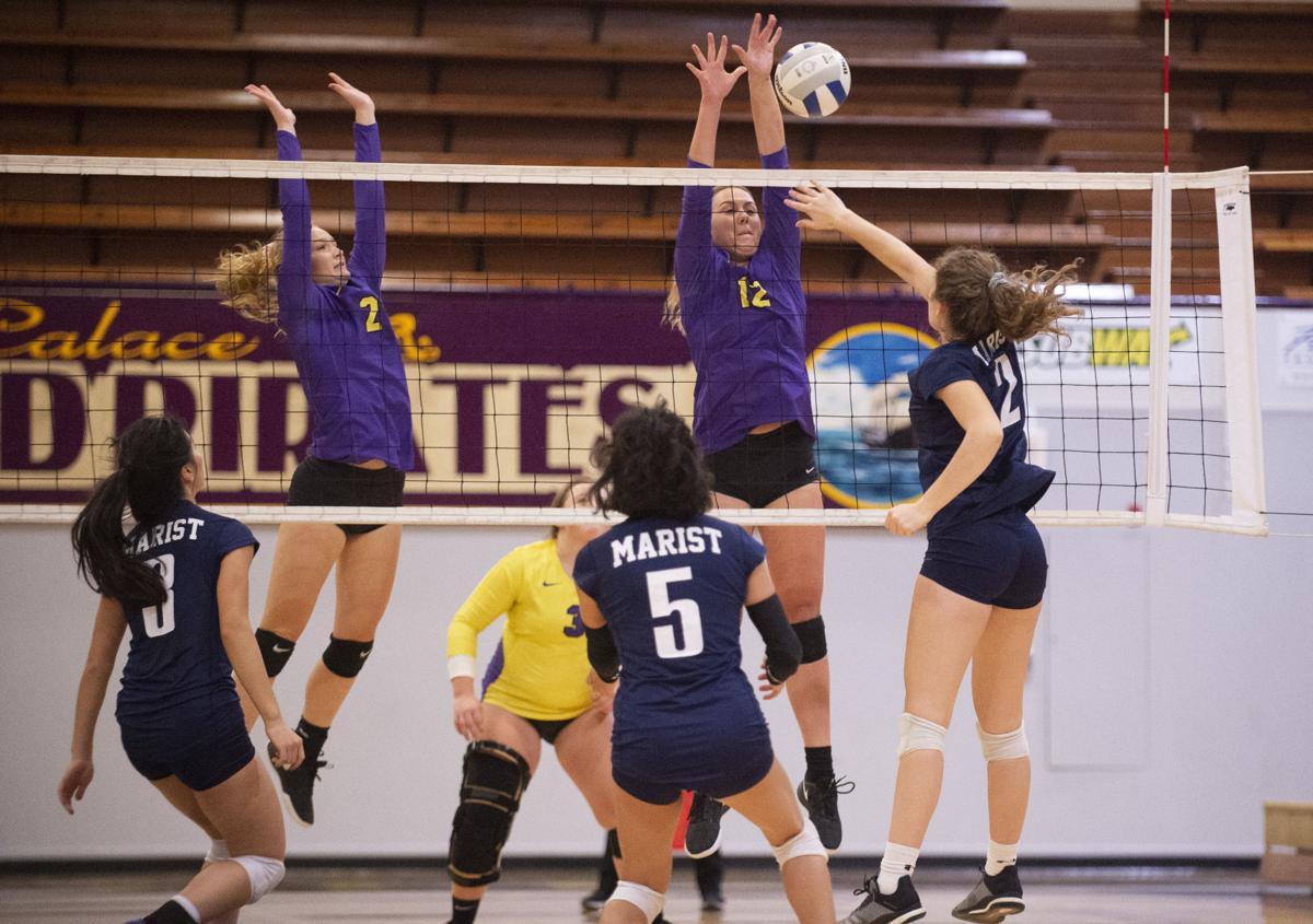 Marshfield Volleyball Vs. Marist Catholic