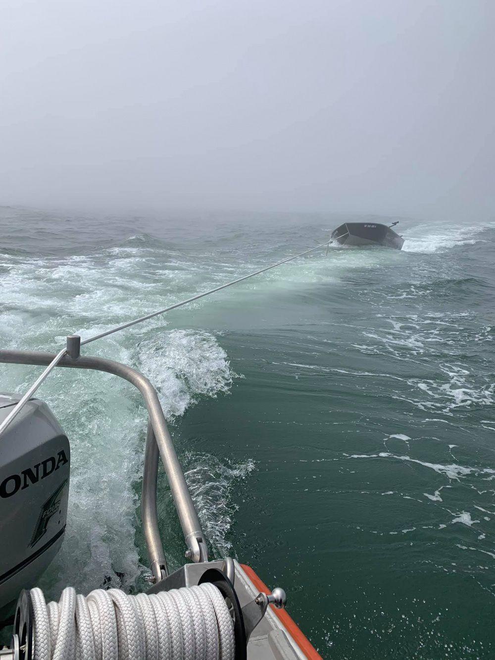 Coast Guard rescue in Brookings