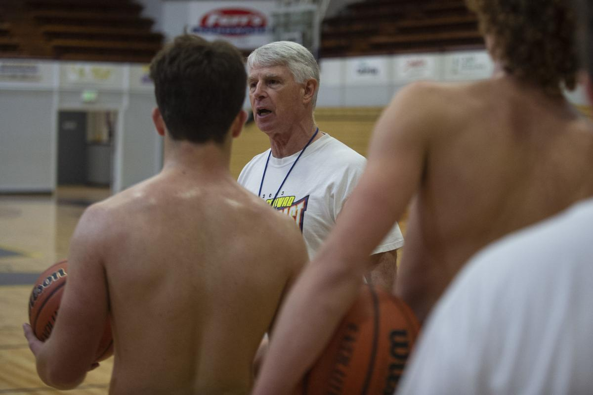 Marshfield Boys Basketball Coach