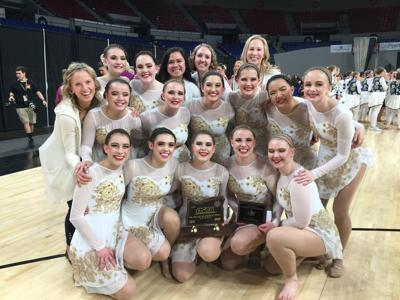 Marshfield finishes fifth at state dance championships