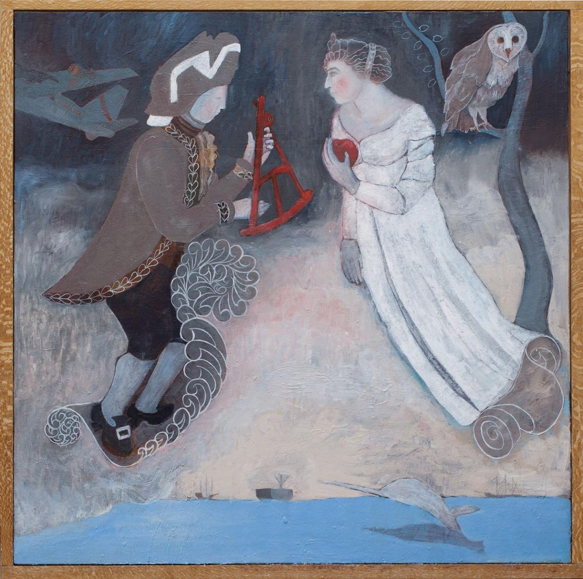 Angela Passalacqua,  The Sextant and the Apple