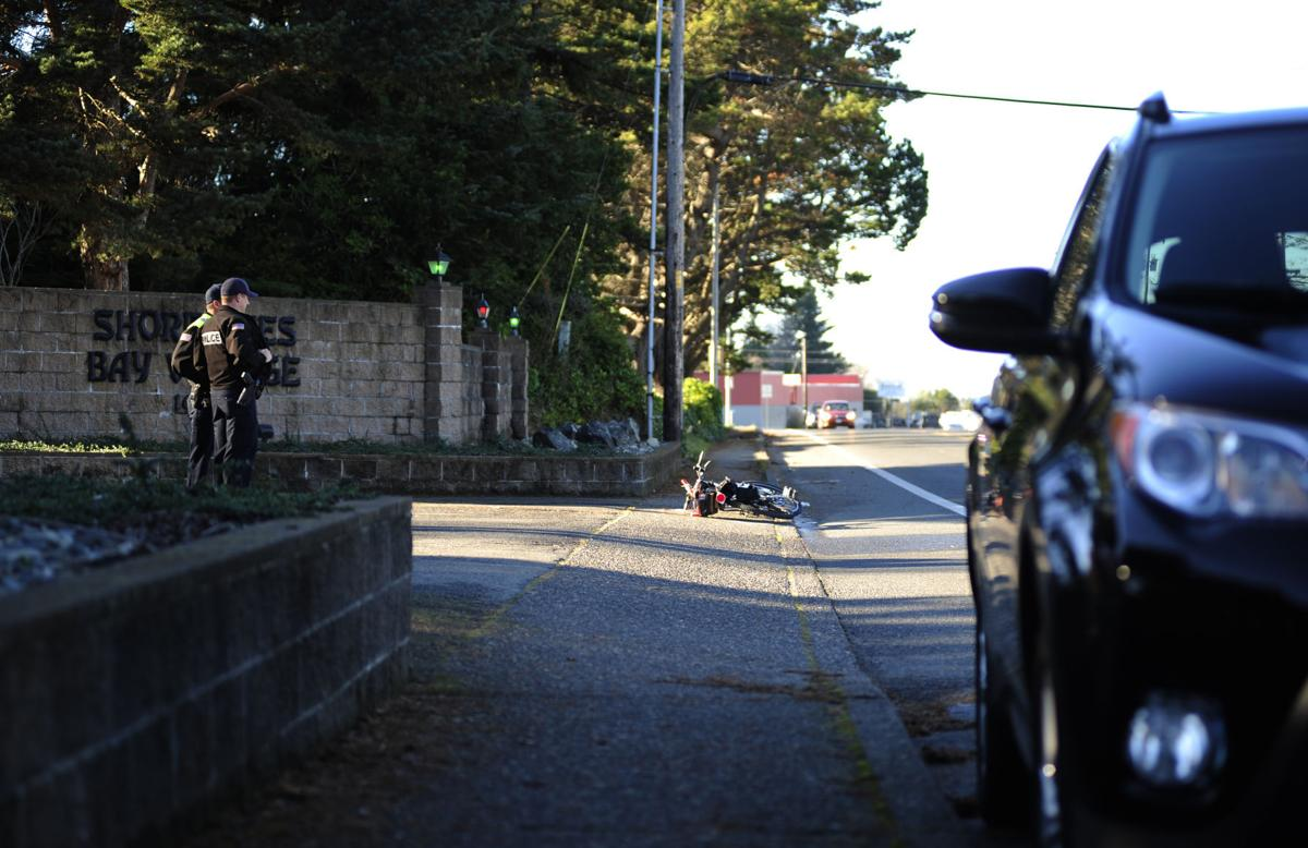 Auto and Bicycle Collision