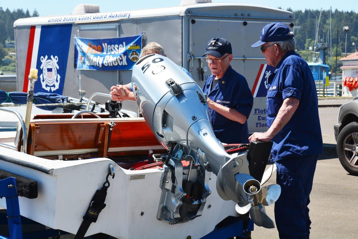 US Coast Guard Auxiliary groups offer vessel safety inspections.