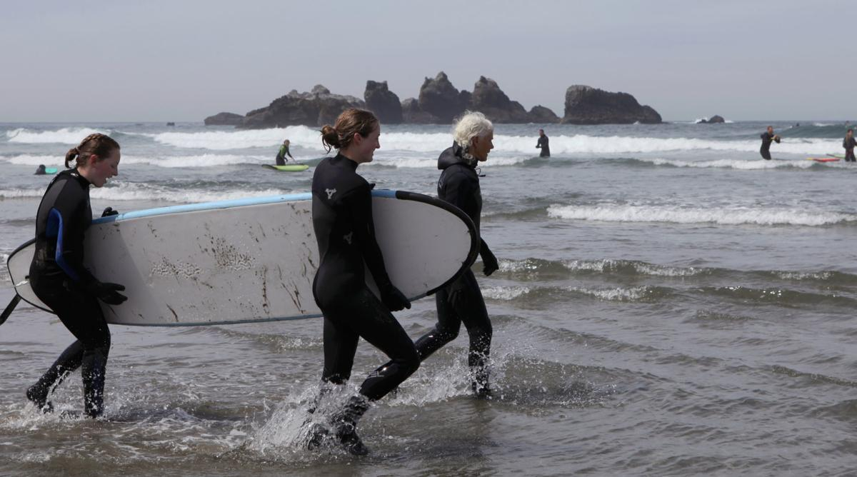 Surf Camp at Coquille Point - Deb Lohry