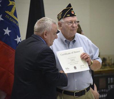 Vietnam War veterans honored in Dalton