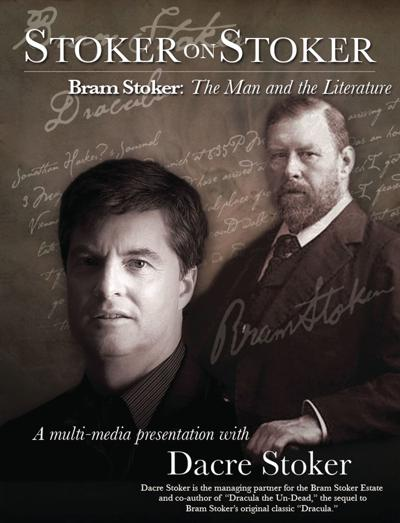 Dacre Stoker is set to present 'Stoker on Stoker: The Mysteries Behind the Writing of Dracula' on Oct. 8. at 7 p.m. at ABAC's Howard Auditorium