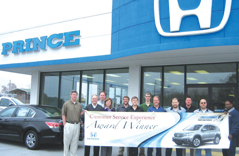 Contributed Photo The Prince Honda Team Was Recently Recognized For Being  One Of The Top American Honda Dealers Nationwide In Service And Parts  Customer ...