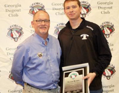 GA Dugout Club names Barber Assistant of the Year