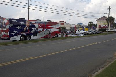 Trump Bus visits Tifton