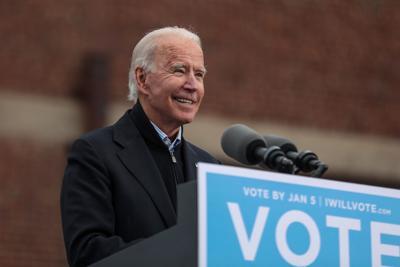 Joe Biden visits Georgia