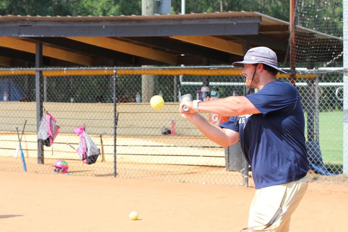 New coach Benson hosts initial softball camp