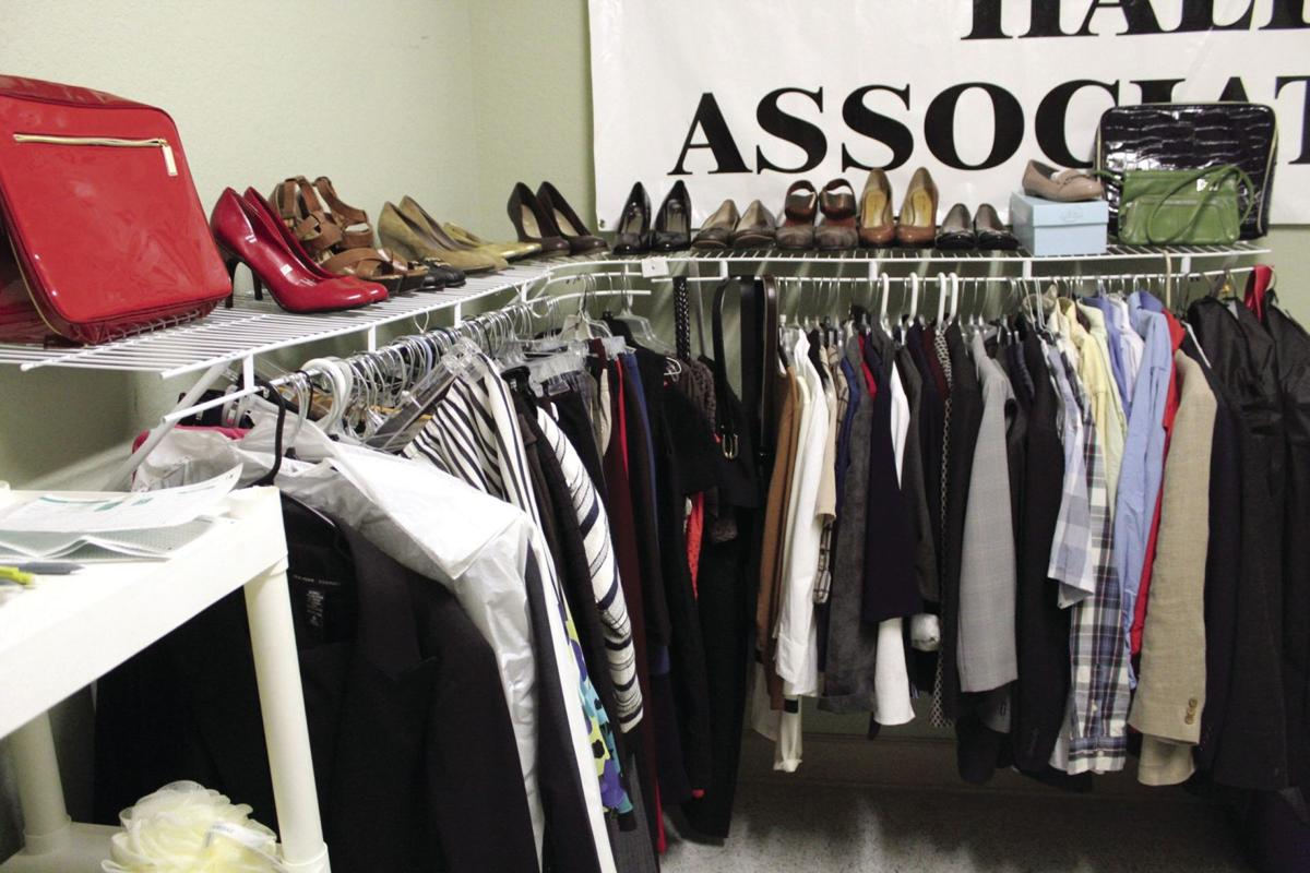 ABAC collects donations of men's and women's professional clothing for students who don't have the money for nice clothing.