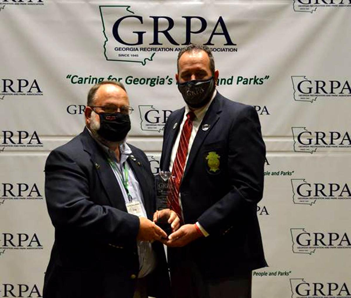 TCRD's Sowell surprised with GRPA Hall of Fame honors