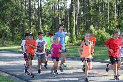Summer running group charting their course