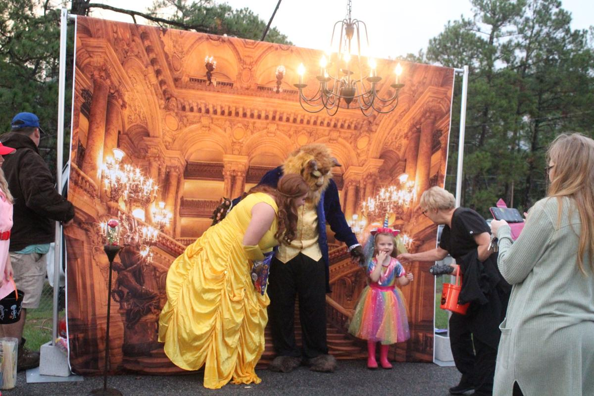 Since they couldn't bring the kids to the ballroom, Belle and The Beast brought the ballroom to the kids.