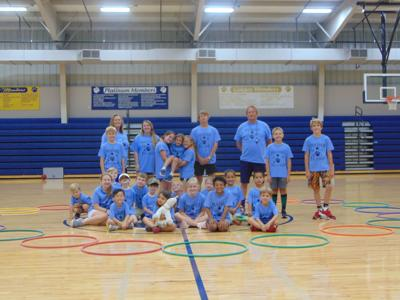 All sports welcome at Tiftarea Academy P.E. camp