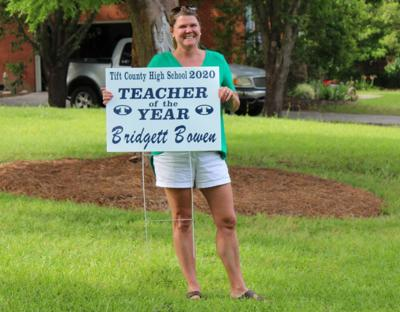 Bridgett Bowen was recently announced as Tift County High School's Teacher of the Year.