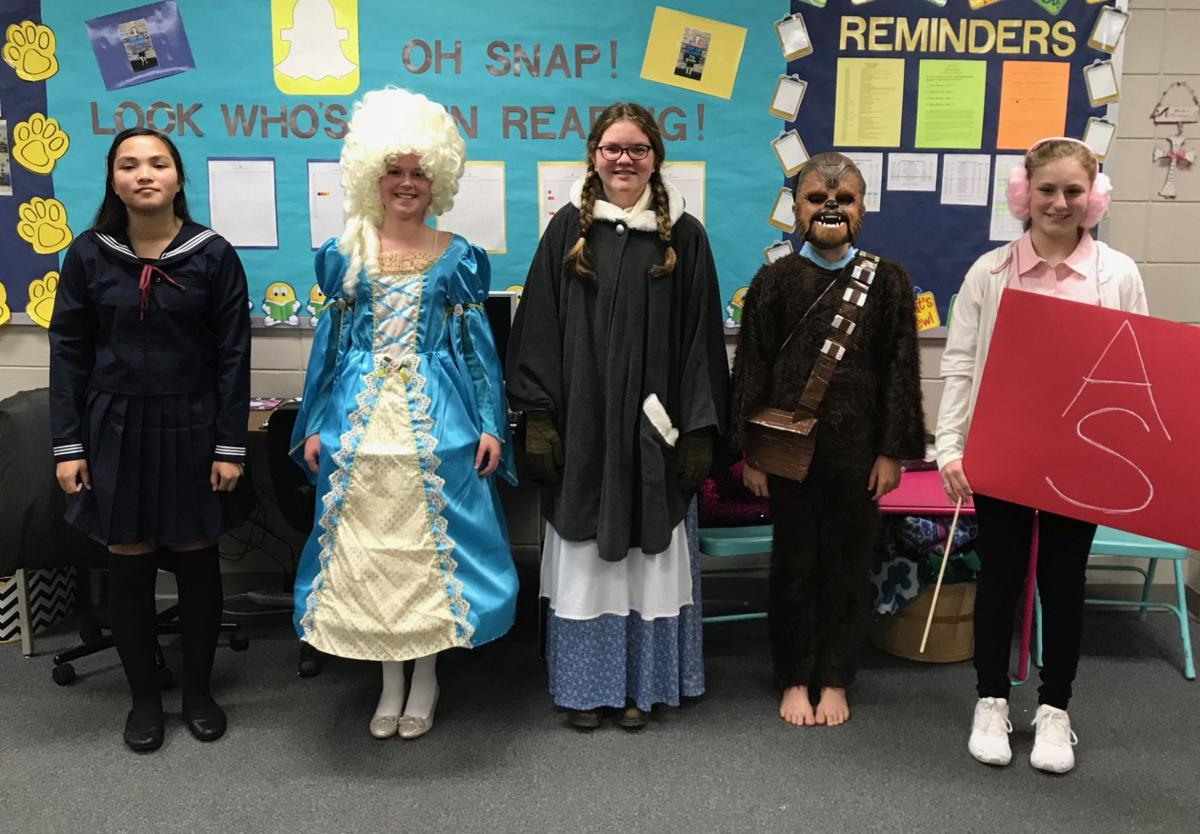 More Tiftarea student dressed as characters from literature.