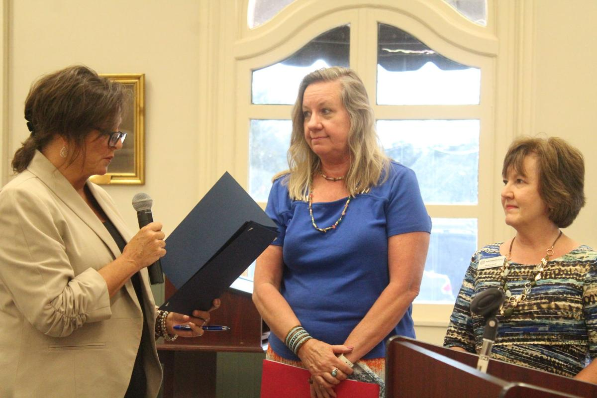 Mayor Julie Smith read a proclamation recognizing Adult Education and Family Literacy Week from Sept. 22-28.