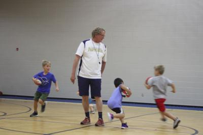Kids get in gear at Tiftarea basketball camp